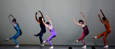 "Pam Tanowitz Dance; ""The Spectators"" (excerpt) featuring FLUX Quartet"
